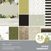 Fallen Leaves 6 x 6 Paper Pad - KaiserCraft - PRE ORDER