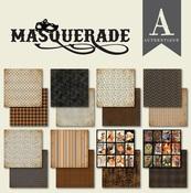 Masquerade 6 x 6 Paper Pad - Authentique - PRE ORDER