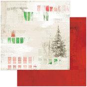 Painted Season Paper - Vintage Artistry Noel - 49 And Market