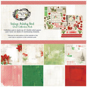 Vintage Artistry Noel Collection Pack 12 x 12 - 49 And Market