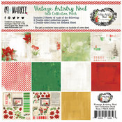 Vintage Artistry Noel Collection Pack 6 x 6 - 49 And Market