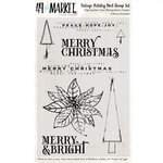 Vintage Artistry Noel Clear Stamp 4x6 - 49 And Market