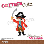 Pirate Dies 2.6 x 4.2 - CottageCutz - PRE ORDER