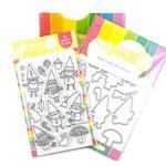 Happy Gnomes Stamp & Die Set - Waffle Flower Crafts - PRE ORDER