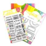 Classic Sentiments Stamp & Die Set - Waffle Flower Crafts - PRE ORDER