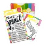 Oversized Peace Stamp & Die Set - Waffle Flower Crafts