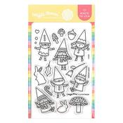 Happy Gnomes Clear Stamps 4 X 6 - Waffle Flower Crafts