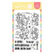Fa-La-La Clear Stamps 4 X 6 - Waffle Flower Crafts