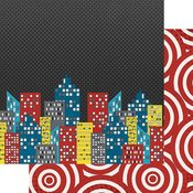 Cityscape Paper - Sidekick Optional - Fancy Pants - PRE ORDER