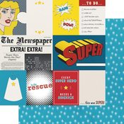 Hero Cut-Apart Paper - Sidekick Optional - Fancy Pants - PRE ORDER