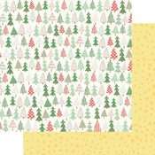 Christmas Trees Paper - Wishmas - Fancy Pants - PRE ORDER