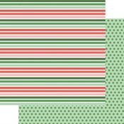 Christmas Stripes Paper - Wishmas - Fancy Pants - PRE ORDER