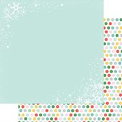 Christmas Flurries Paper - Wishmas - Fancy Pants - PRE ORDER