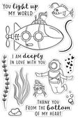 Deeply in Love Clear Stamp 4 x 6 - Hero Arts