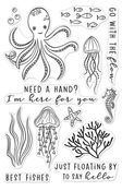 Need A Hand Clear Stamp 4 x 6 - Hero Arts