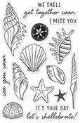 Sea You Soon Clear Stamp 4 x 6 - Hero Arts