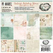 Vintage Artistry Shore 6 x 6 Paper Pad - 49 And Market