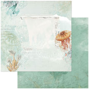 Barrier Reef Paper - Vintage Artistry Shore - 49 And Market