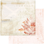 In The Shallows Paper - Vintage Artistry Shore - 49 And Market