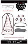#6 Snow Globe Tree Die Set - Say It With Stamps - Photoplay - PRE ORDER