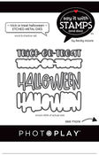 Trick/Treat Die Set  - Say It With Stamps - Photoplay - PRE ORDER