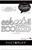 Boo/Eek Die Set - Say It With Stamps - Photoplay - PRE ORDER