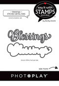 Blessings Die Set - Say It With Stamps - Photoplay