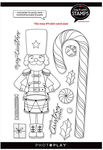 #9 Nutcracker/Candy Cane - Say It With Stamps - Photoplay - PRE ORDER