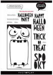 #6 Halloween Big Mouth - Say It With Stamps - Photoplay
