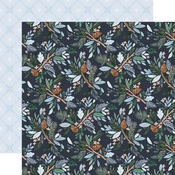 Winter Floral Paper - Winter Market - Carta Bella