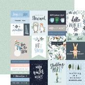 3X4 Journaling Cards Paper - Winter Market - Carta Bella