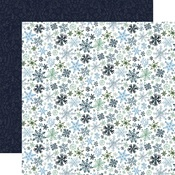Let It Snow Paper - Winter Market - Carta Bella