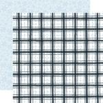 Frosty Plaid Paper - Winter Market - Carta Bella - PRE ORDER