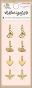 Marigold Gold Icon Charms - Maggie Holmes