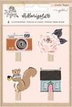 Marigold Clothespins - Maggie Holmes