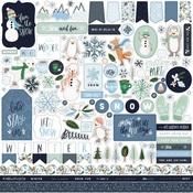 Winter Market Element Sticker - Carta Bella
