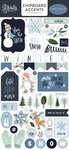 Winter Market Chipboard Accents - Carta Bella - PRE ORDER