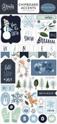 Winter Market Chipboard Accents - Carta Bella