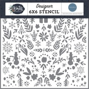 Winter Wonderland Stencil - Carta Bella