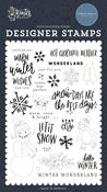 Warm Winter Wishes Stamp Set - Carta Bella