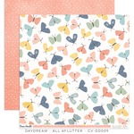 All Aflutter Paper - Daydream - Cocoa Vanilla Studio