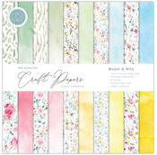 Bloom & Wild 12x12 Paper Pad - The Essential Craft Papers - Craft Consortium