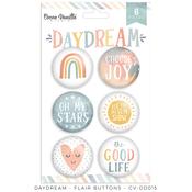 Daydream Flair Buttons - Cocoa Vanilla Studio