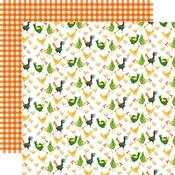 Chicken Coop Paper - Farm To Table - Carta Bella