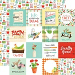 3X3 Journaling Cards Paper - Farm To Table - Carta Bella - PRE ORDER