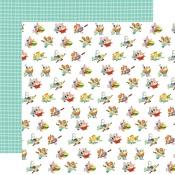 Floured Flowers Paper - Farm To Table - Carta Bella