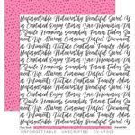 Unscripted Paper - Unforgettable - Cocoa Vanilla Studio