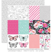 Pretty Bits Paper - Unforgettable - Cocoa Vanilla Studio