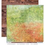 Outdoors Type Paper - Legendary - Cocoa Vanilla Studio
