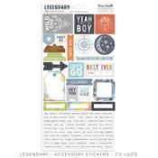 Accessory Stickers - Legendary - Cocoa Vanilla Studio - PRE ORDER